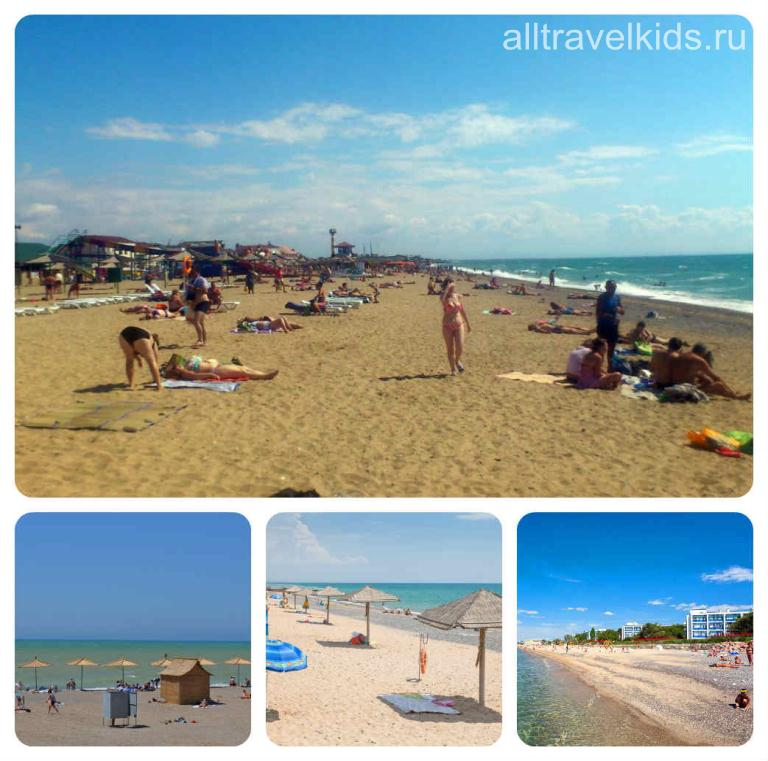 Пляжи поселка Черноморское Крым