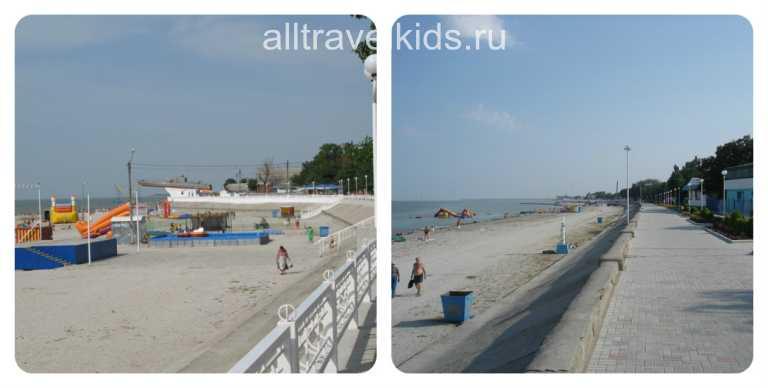 Пляжи Приморско-Ахтырска