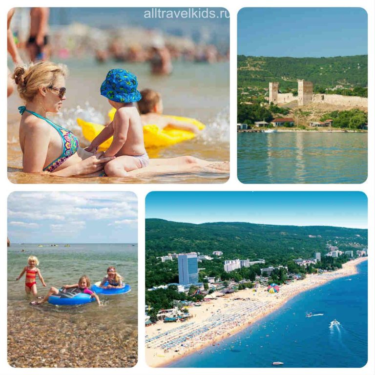 Пляжи Феодосии для детей