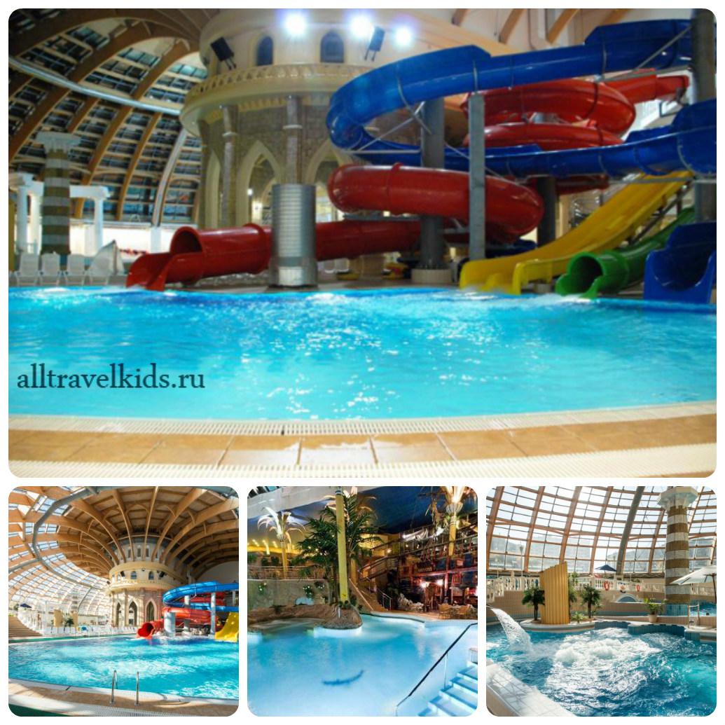 Самый большой аквапарк Москвы Карибия