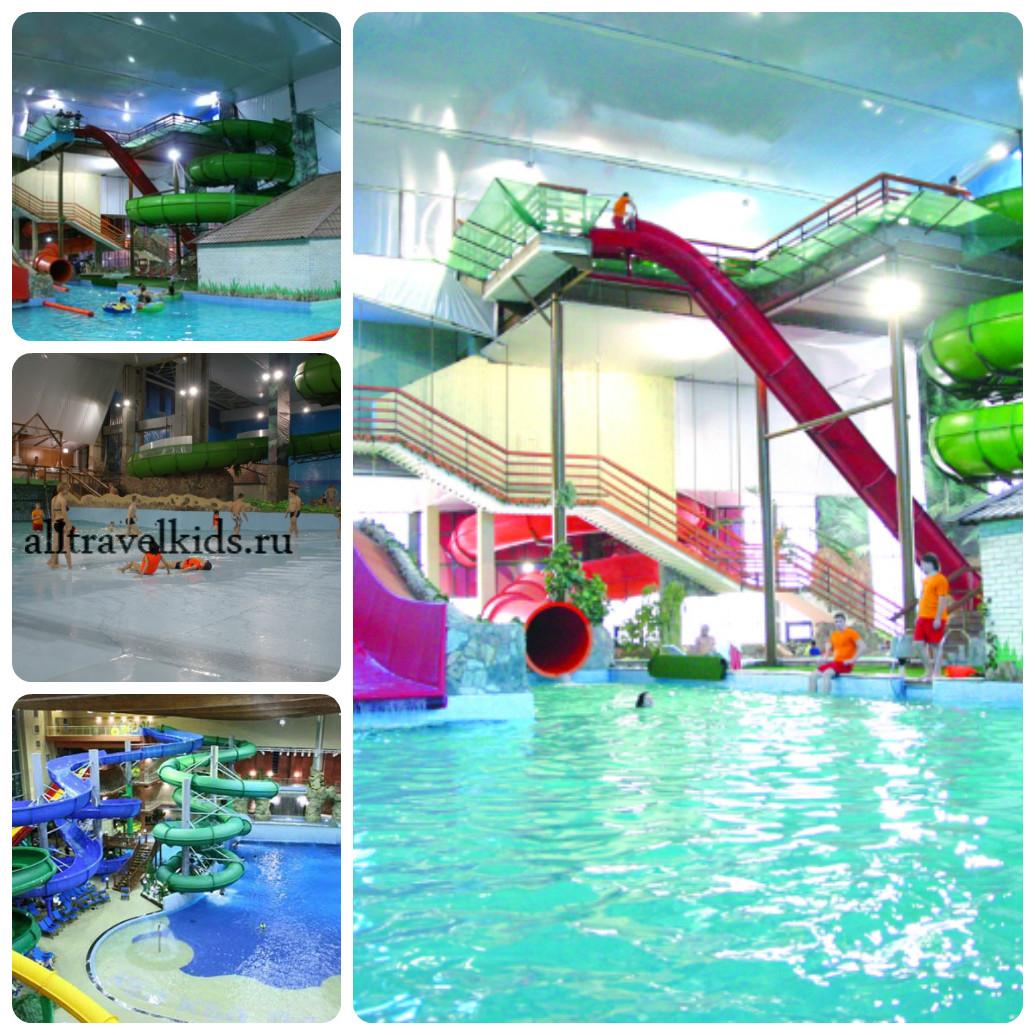 Отдых в аквапарке Фэнтази парк