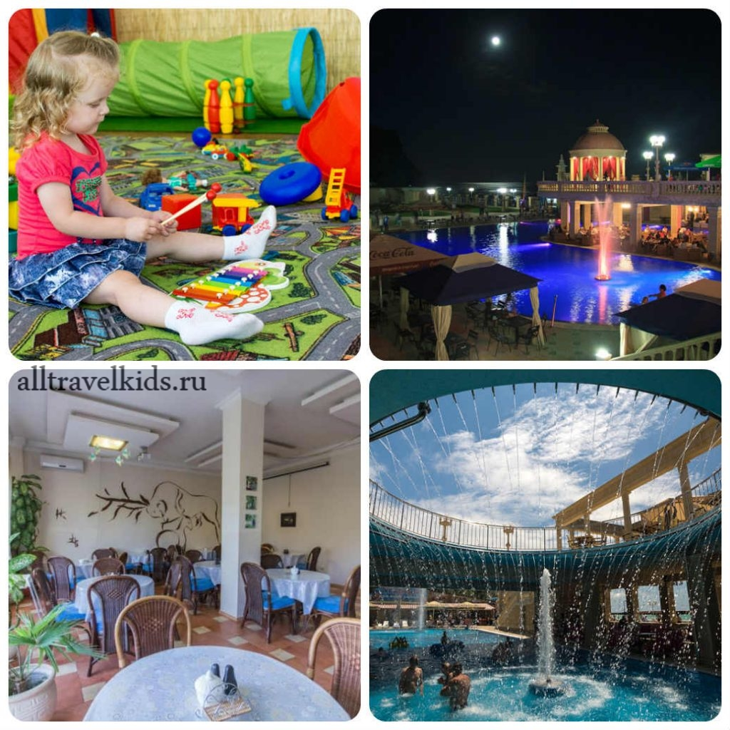 Гостинично-развлекательный комплекс «Альбатрос» в Архипо-Осиповке