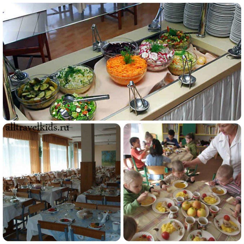 Пятиразовое питание в Евпаторийском Военном санатории