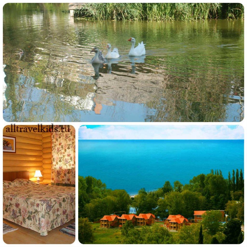 Эко-отель Озеро Дивное в п. Лазаревское