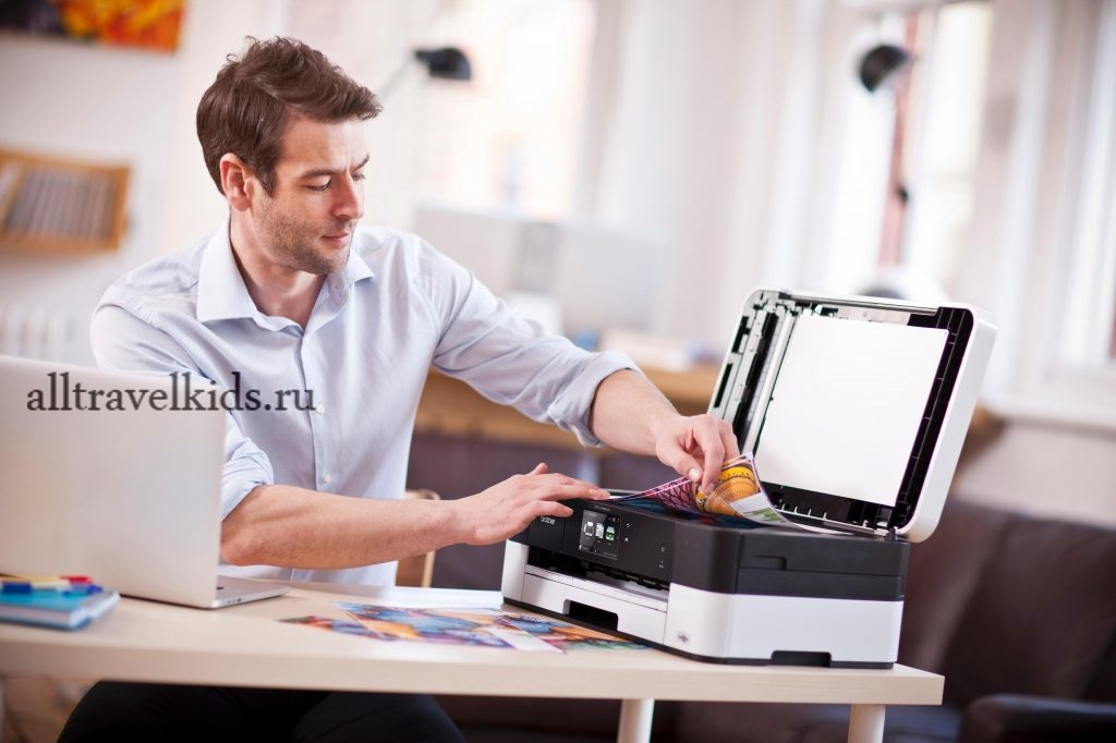 Распечатка билета на принтере