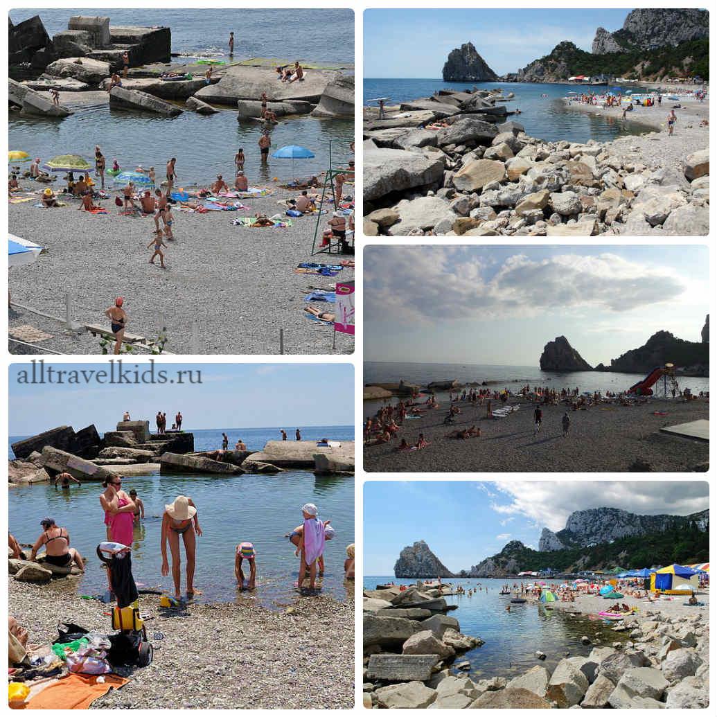 детский пляж симеиз лягушатник