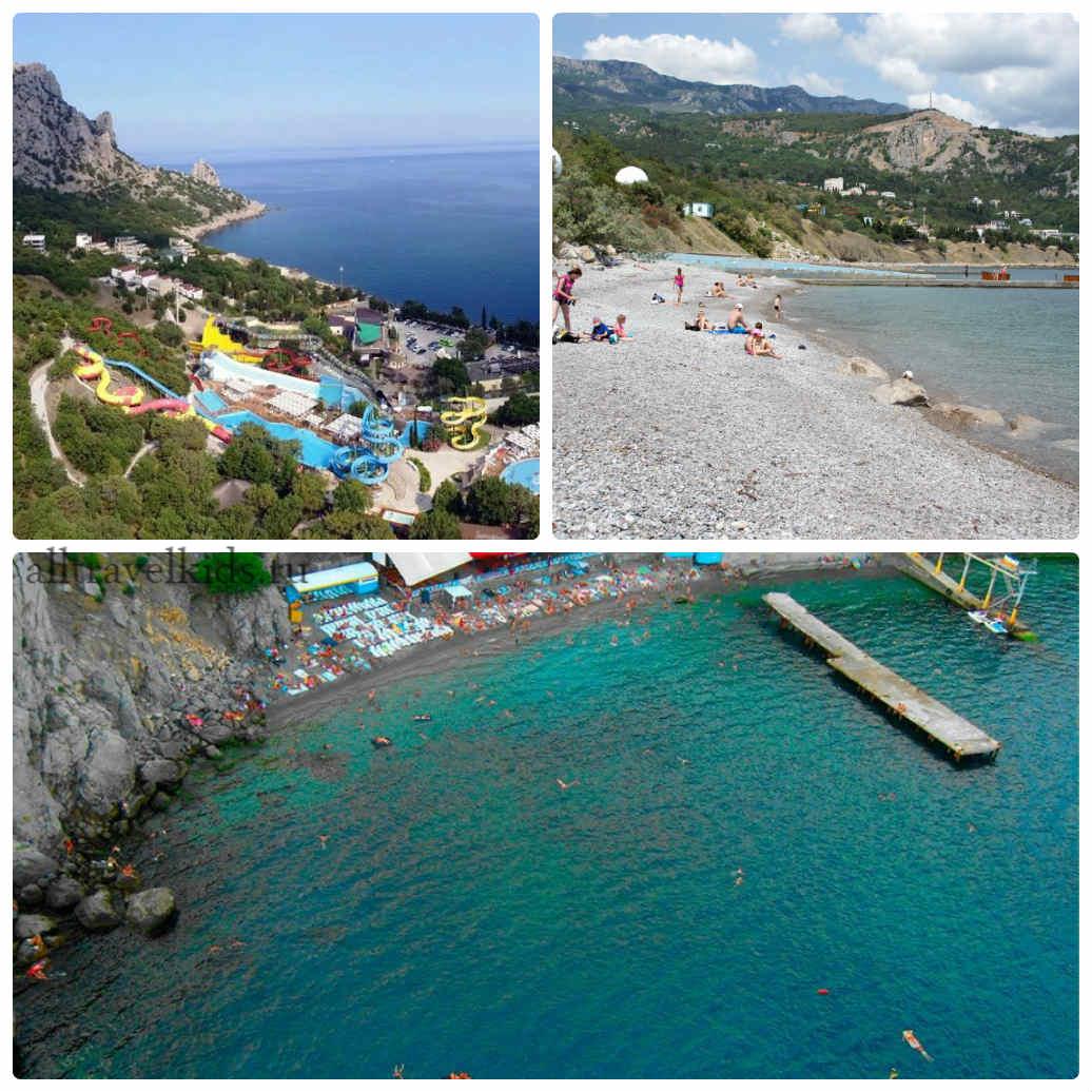 Пляжи Симеиза фото и отзывы: расположение и советы по пляжам Крыма