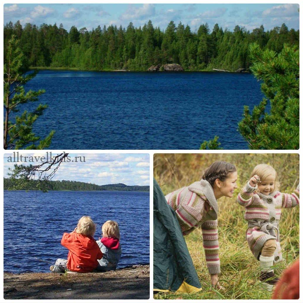 отдых с детьми в Карелии на майские каникулы