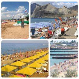 Где в Крыму лучшие песчаные пляжи и чистое море