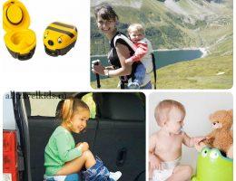 Складной горшок для путешествий с ребенком